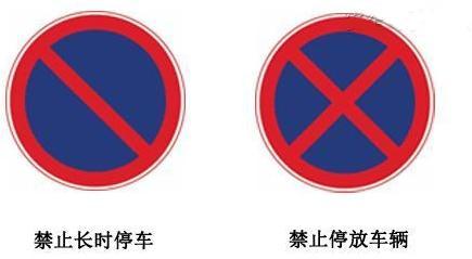 常见交通标志详解图片