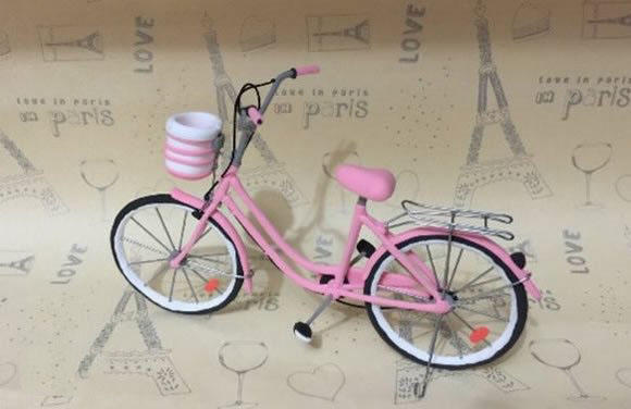 好看又逼真的手工小自行车,你也可以亲手做出!