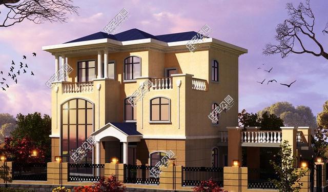 风格截然不同的农村自建房户型