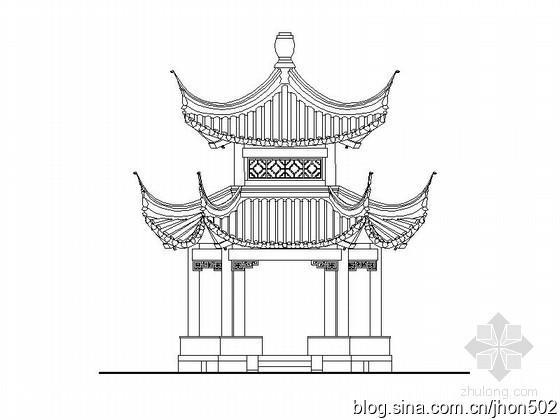古代房子简单手绘图片