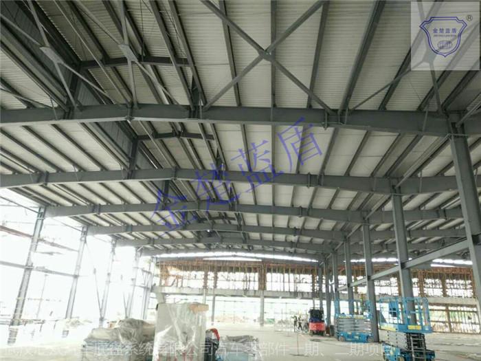 钢结构防火涂料施工设计及成品保护