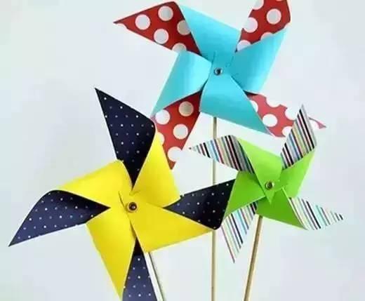 DIY手工制作风车,带着孩子一起做吧 搜狐教育 搜狐网