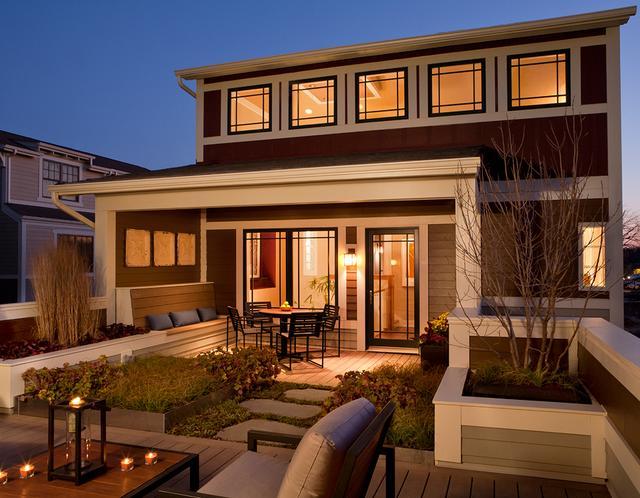 最中式的美式乡村别墅 装修风格学得来图片