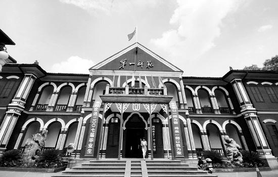 湖南第一师范学院_主要取景点:湖南第一师范学院 到现在常德烈士公园武陵花园附近现建