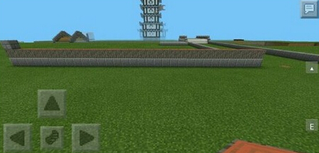 我的世界pe版中式城墙建造图文攻略图片