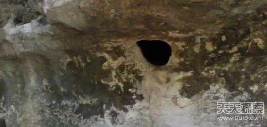 女人嫩穴洞_准备伸手去拉杂草,巨大石头上的洞是蜘蛛穴