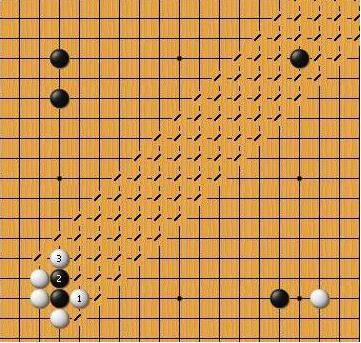 图】【涨姿势】打劫、扭断,这些两字围棋术