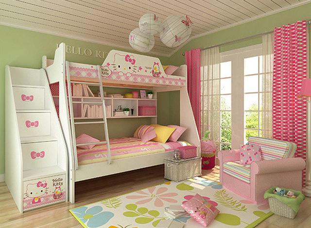 舒适的儿童房间需要如何布置?图片