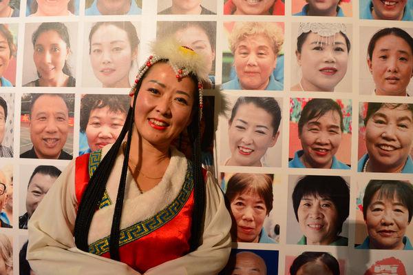 莲池区西高庄村农民画展在北京中华世纪坛开幕