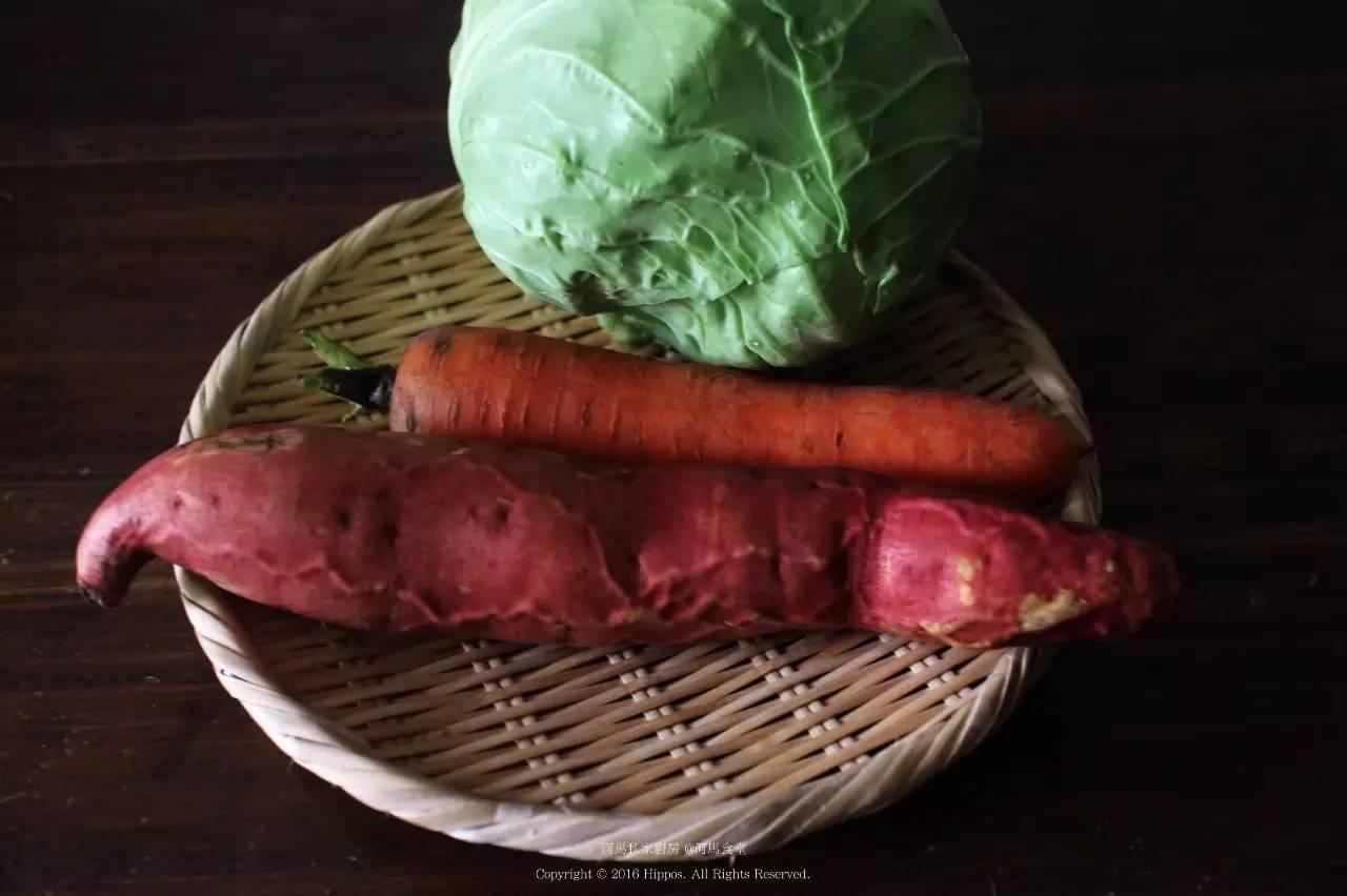 红薯,胡萝卜
