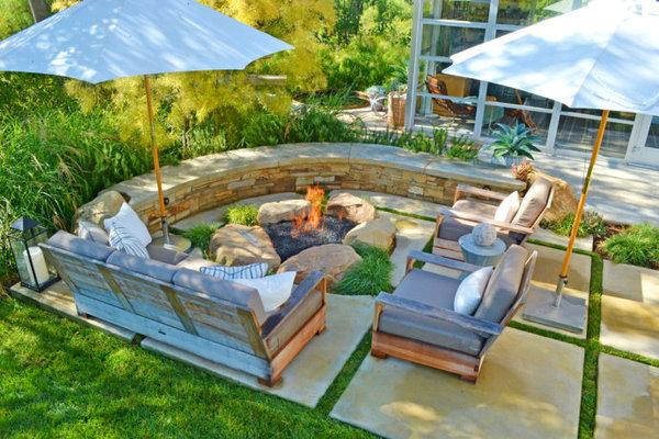 别墅庭院景观设计说明