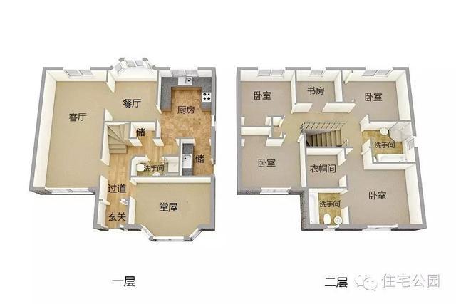 10x9米带玄关堂屋自建房,20万拿下,还能设庭院