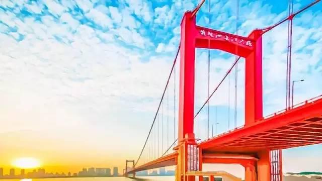 武汉第八座长江大桥——鹦鹉洲长江大桥图片