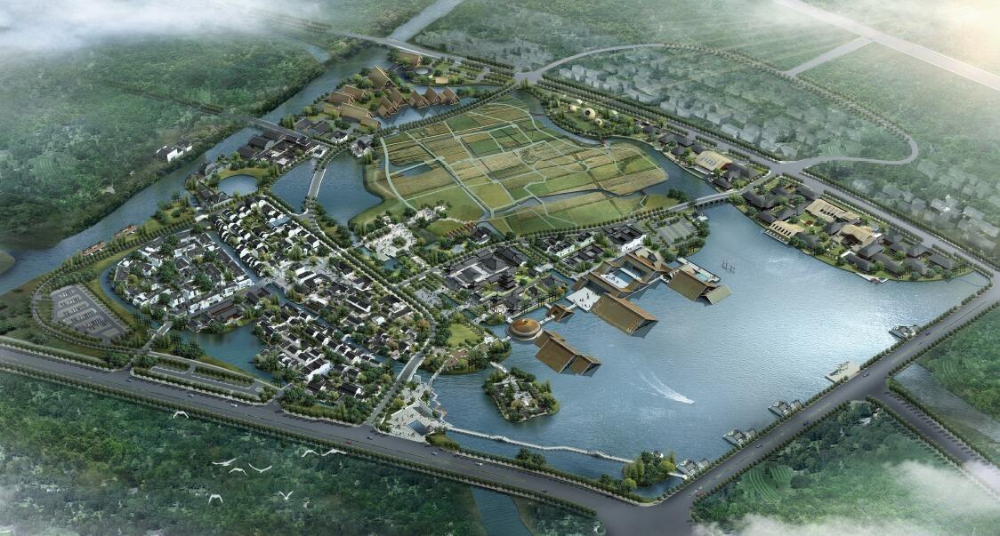 广富林古文化遗址保护与综合开发项目图片