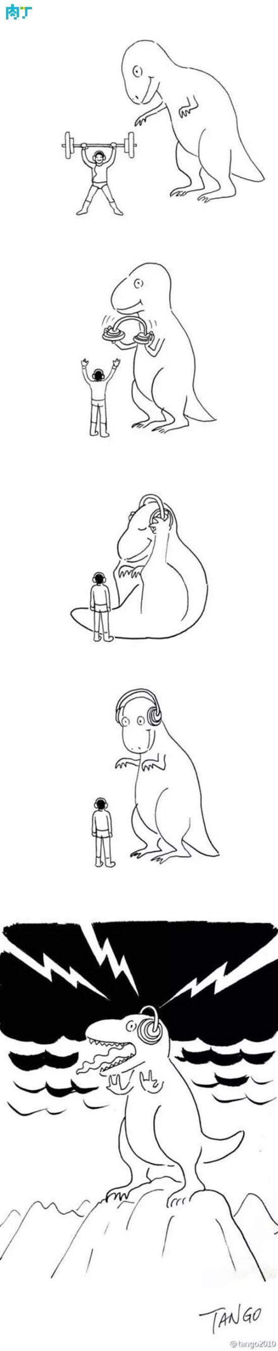 黑色幽默漫画图片合集