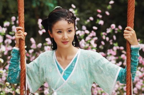 拍摄于九寨沟,刘亦菲这版小龙女最迷人的不是白衣飘飘的神仙
