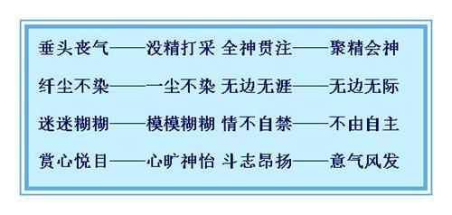 最的近义词_小学语文 390组 近义词 汇总 值得收藏