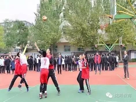 风云际会争霸校园篮球 意气风发一展七中雄姿