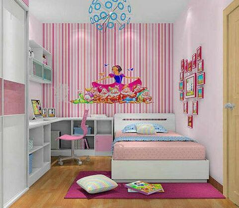 5平米小卧室装修设计效果图二