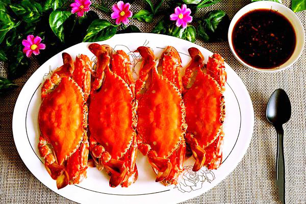文章菜谱推荐海鲜摘要:清蒸螃蟹是美食菜螃蟹之一,以正文为制作做法煮豆腐的鲶鱼不辣图片