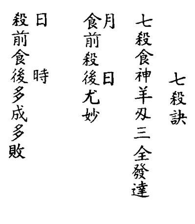 全增补祖传图解八字阐微