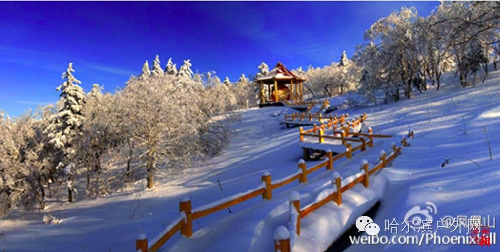16.11.15-16五常凤凰山冬季冰雪景观摄影休闲