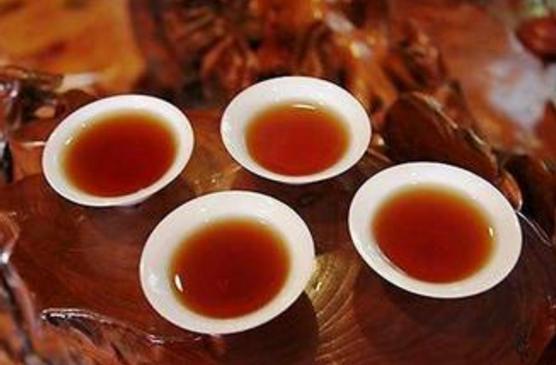 老黑茶茶加蜂蜜的功效图片
