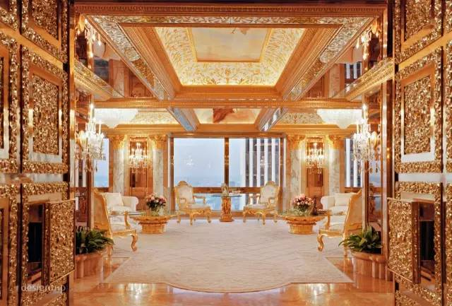 新美国总统川普的家究竟有多豪?看完就跪了... - 伯虎才子 - 夕阳红温馨港湾