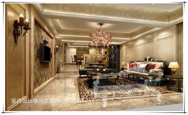 室内设计的原理搭配客厅与色彩家庭装修中技巧与餐v原理图片
