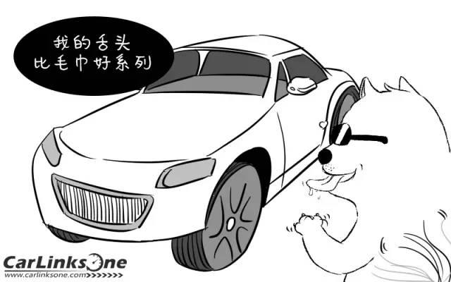 卡通轮胎手绘画