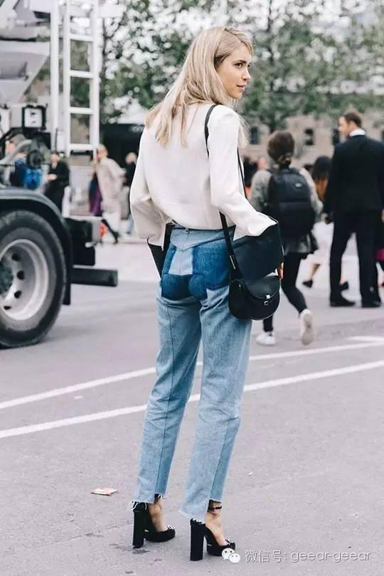 时尚又大方的牛仔裤上班造型 - 小狗 - 窝