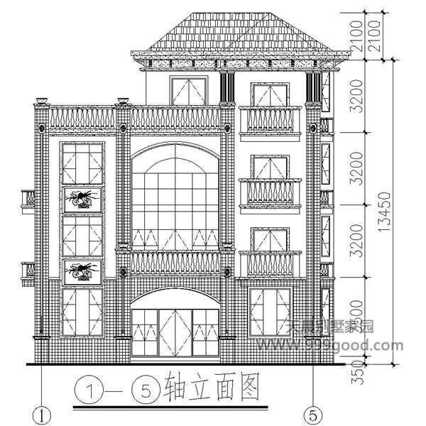 别墅立面图