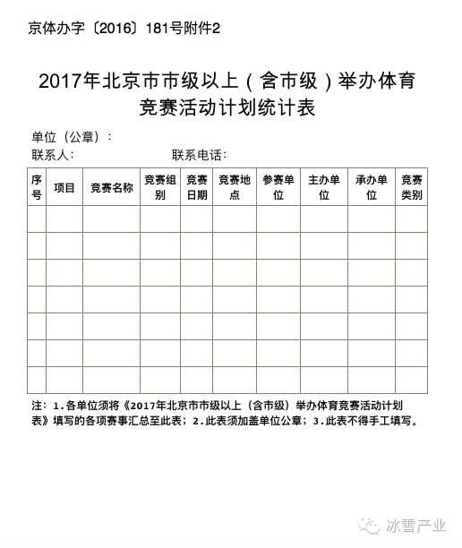 【体育局2017年工作计划】