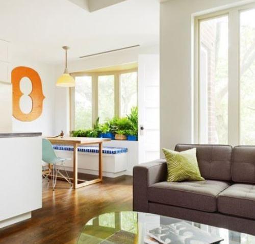 客厅,小卧室,小书房都可以尝试飘窗设计
