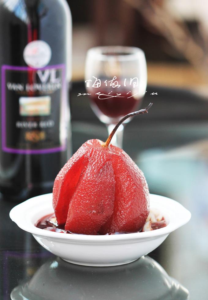 女人的天然养颜圣品——红酒百合醉梨