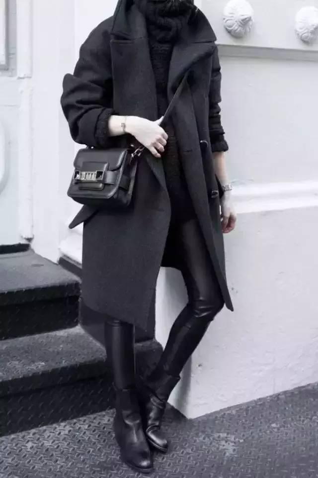 黑色皮衣.酷帅满分-黑色这么百搭酷炫,一定要穿出好品味