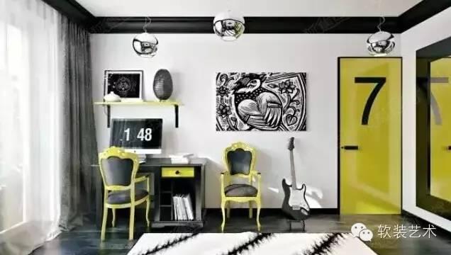 欧式风格钢琴房