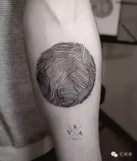 让纹身简单一些