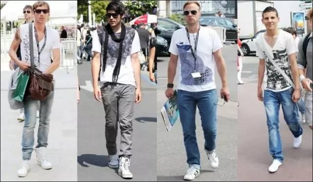 男士牛仔裤  各种鞋搭配攻略记住不要再乱搭了!