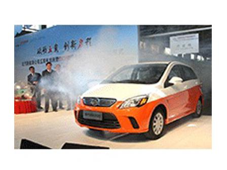 北汽新能源EV200纯电动车正式下线 车史上的今天