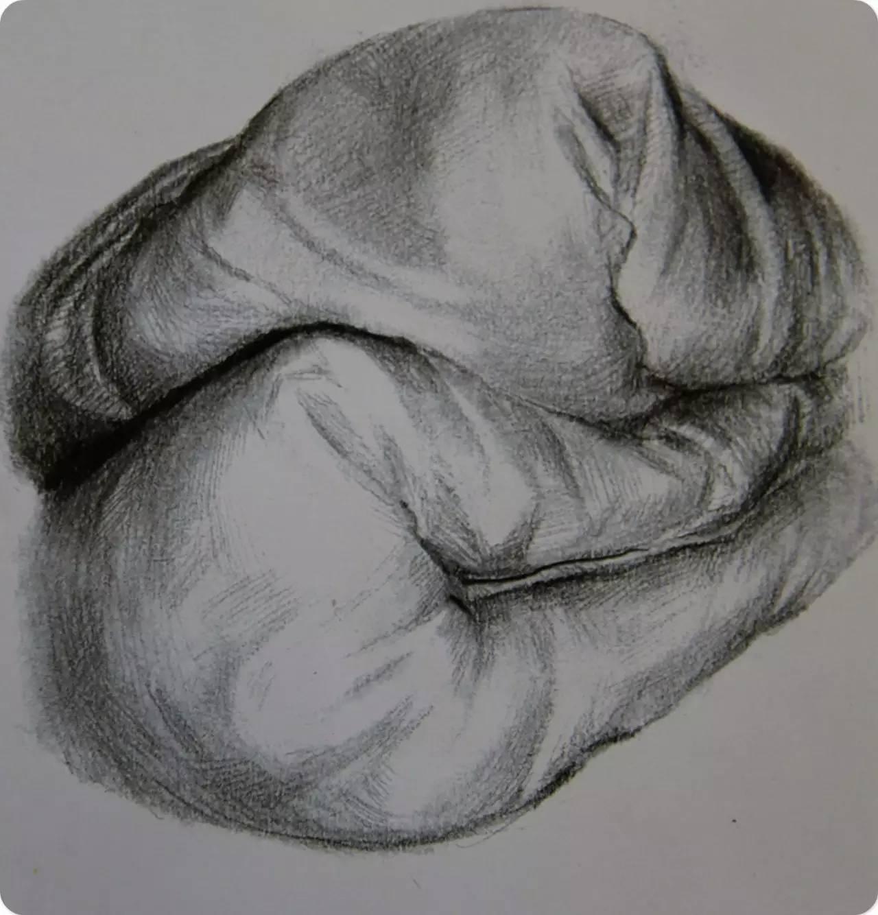 素描  怎样在设计素描中画出静物质感,六类质感训练图片