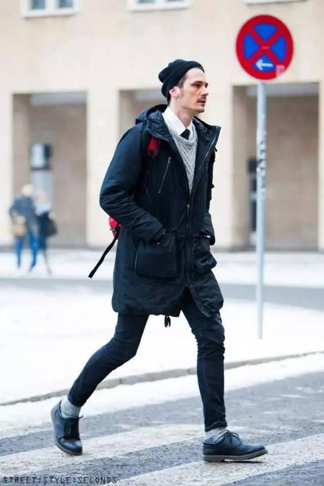 一件派克大衣在手,温暖型格都会有高清图片
