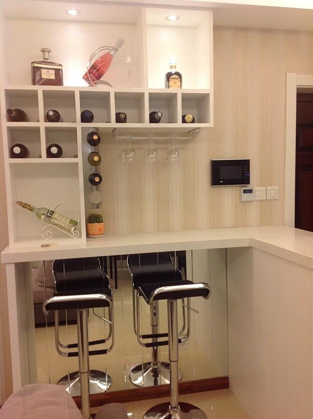 酒柜,吧台的效果图赏析,展示不一样的空间!图片