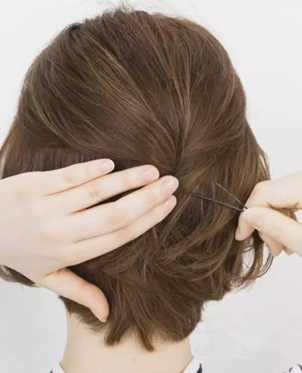 让短发女生也可以性感又可爱!图片