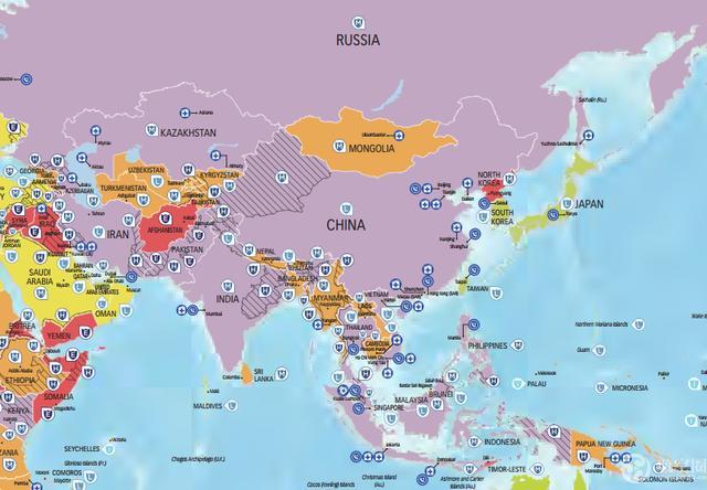 2017世界旅游风险地图发布,欧洲国家最安全