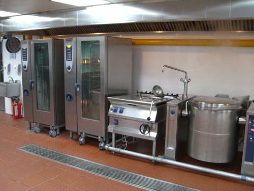 小模板饭店设计效果图厨房,案例饭店设计平面图画图设计图建筑厨房排版图片