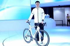 大众在广州车展上发布了一辆自行车……