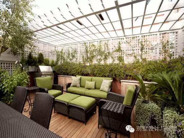 自建别墅屋顶花园这么美,谁还愿意坡屋顶呢?