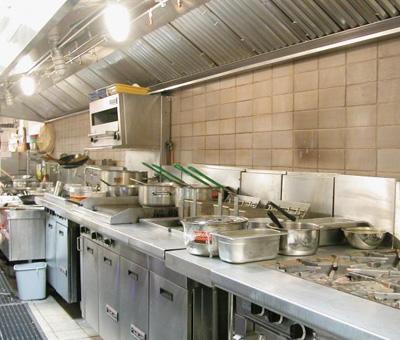 小空间饭店设计效果图厨房,厨房饭店设计平面图升职设计师建筑案例图片