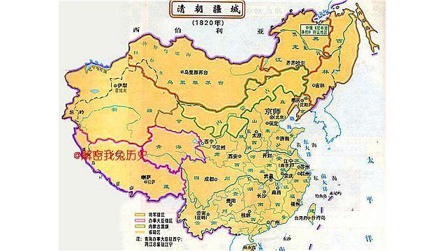 明朝时期行政地图